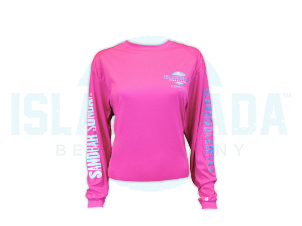 hot-pink-trust-me-im-a-local-long-sleeve-woman-front