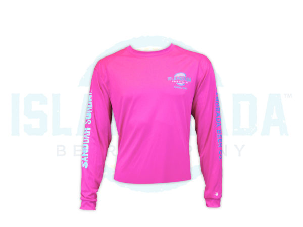 hot-pink-trust-me-im-a-local-long-sleeve-man-front