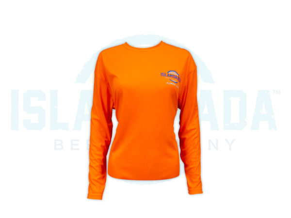 neon-orange-ls-fishing-shirt-woman-front