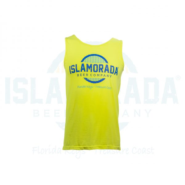 yellow cc tank front